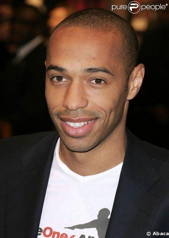Grand footballeur professionnel français : Thierry Henry