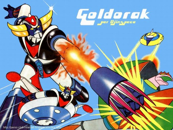 Un super manga : Goldorak