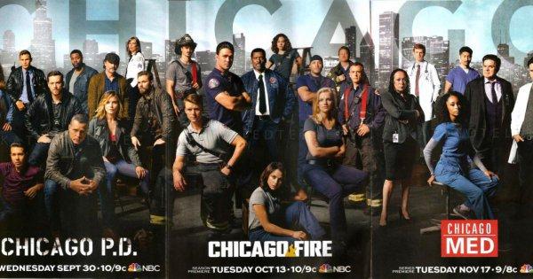 Une super série télévisée : Chicago Fire