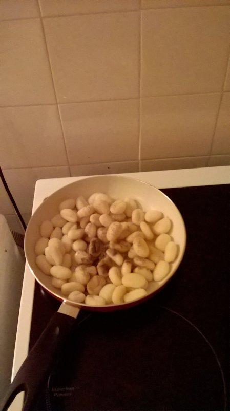 Je fais cuire des gnocchis le vendredi à 21h47