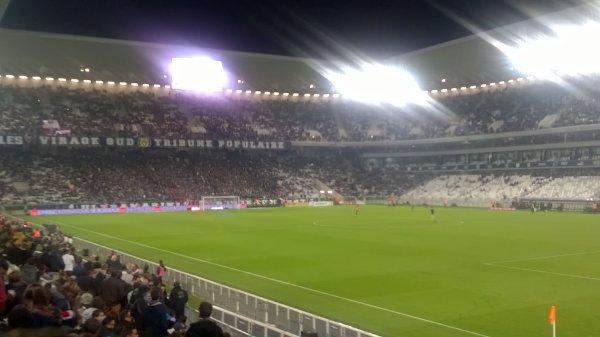 En étant malade j'ai pu assisté au dernier match des Girondins !