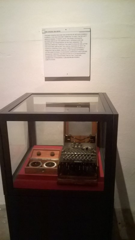 Machine à écrire allemande dans les tunnels de Jersey