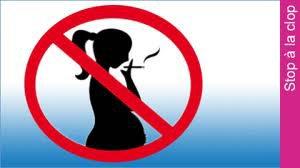 Ne fume pas en étant enceinte !!!