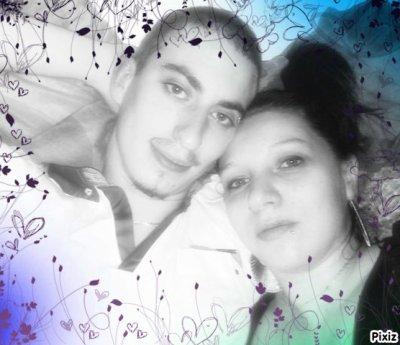 Mon homme et moi. Je t'Aime mon coeur. Trop de bonheur près de toi.