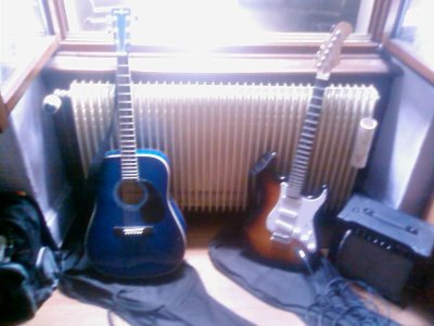 Mes guitares