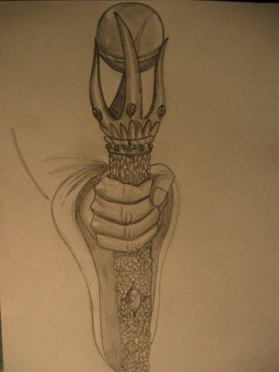 sceptre magique