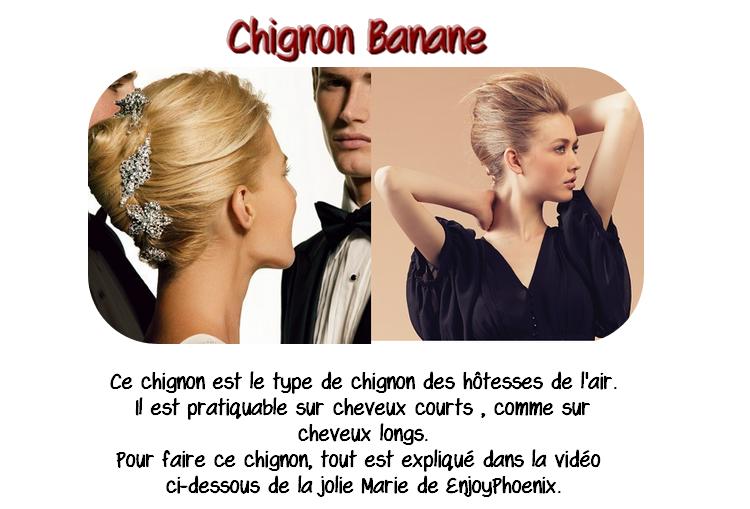 Chignon Banane