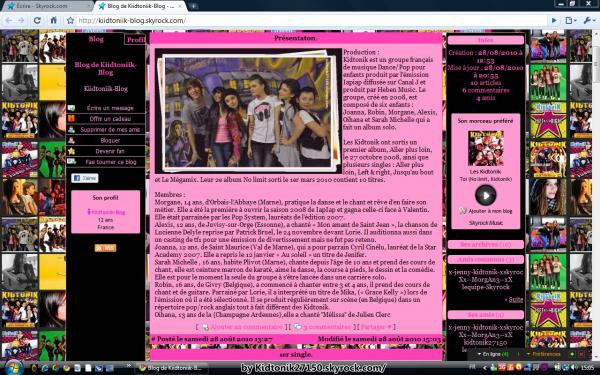 Projet PUB. Blog de kiidtoniik-blog.Un blog sur les kidtonik.Normal.. Allez le voir et lâchez lui des com's..