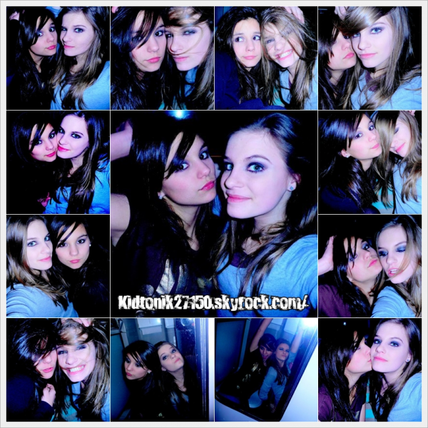 Des photos de Sarah et de Morgane, que j'adore particulièrement.