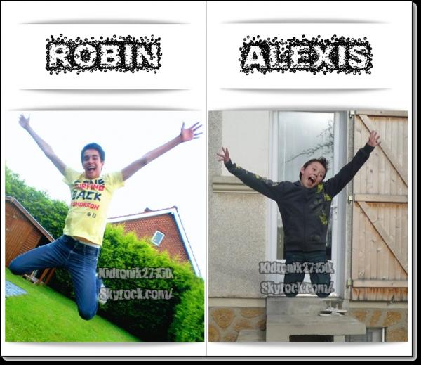 Robin et Alexis... Qui font un ptit saut LOL