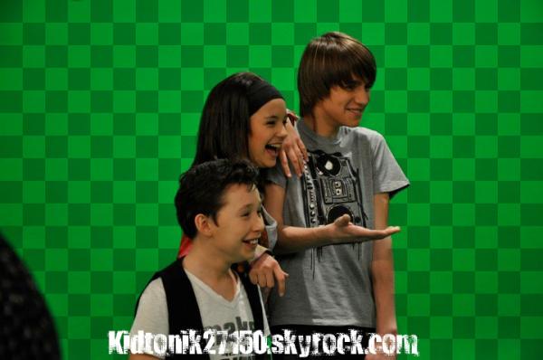 Morgane, Robin, Alexis