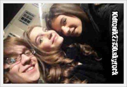 Sarah, Robin et Joanna