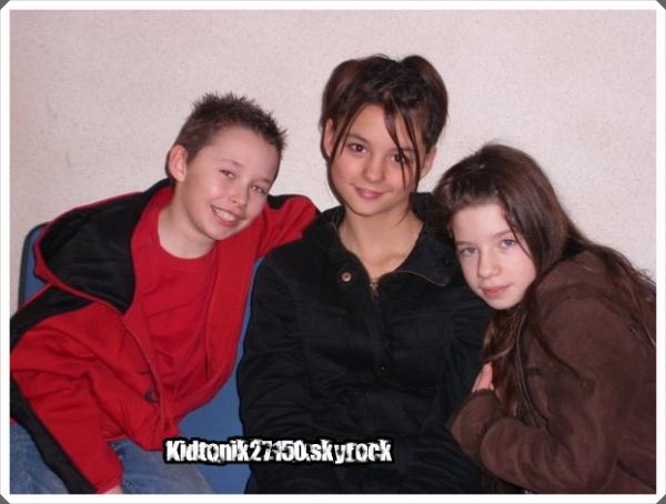 Alexis, Morgane, Joanna.
