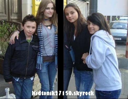 Alexis ; Morgane ; Sarah ; Oihana