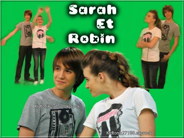 Montage de Sarah et Robin