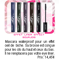 Démaquillant + Mascara