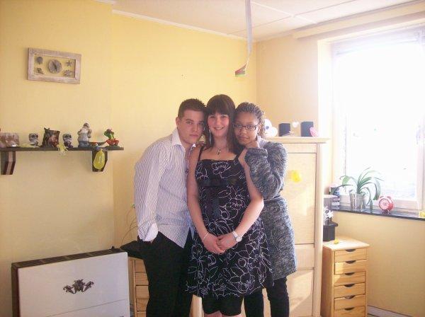 julien, moi et ma petite priska