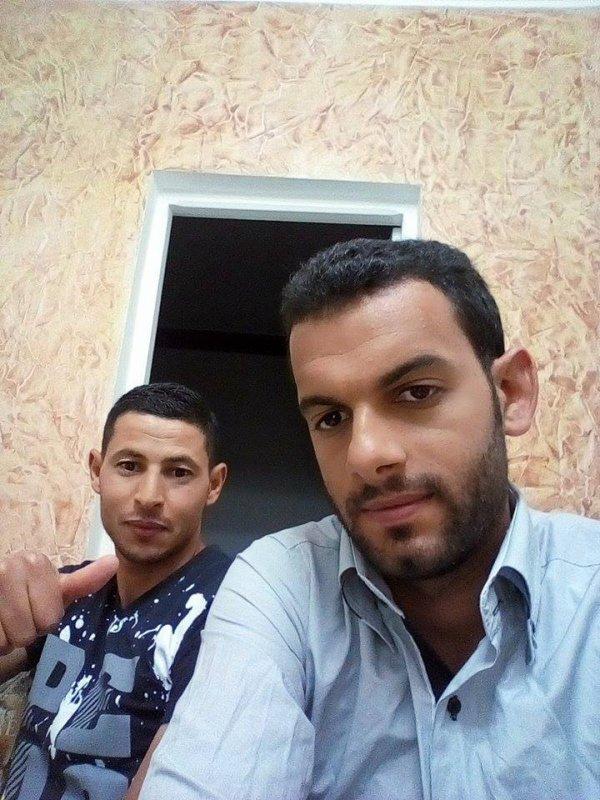 avec mon ami Atef