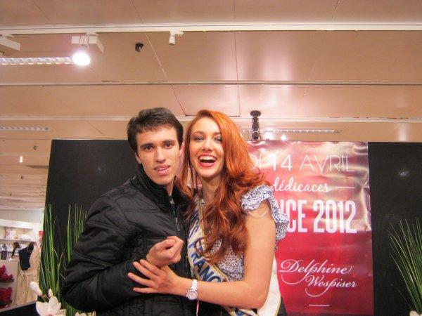 Rencontre avec MISS FRANCE 2012 !