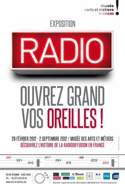 L'exposition RADIO au musée Arts & Métiers