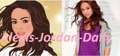 Alexis Jordan: She's On Stardoll