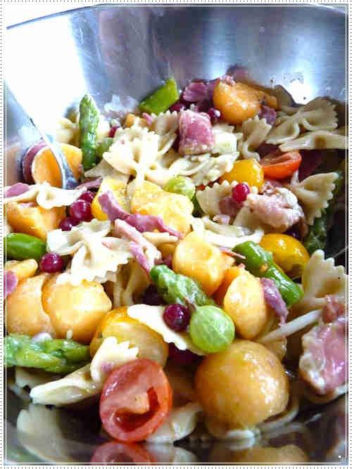 Salade de pâtes rapide à l'italienne