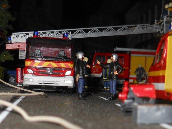 L'incendie n'aura pas fait de victimes
