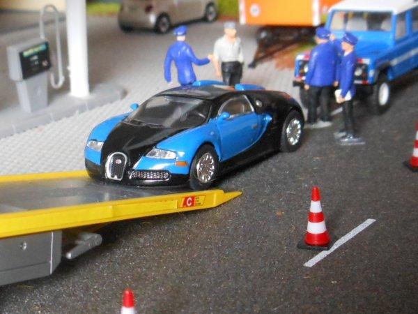 La Gendarmerie saisie une Bugatti Veyron