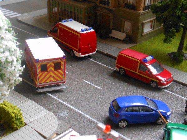 Accident au centre ville