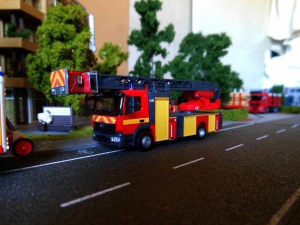 Alarme à incendie dans un établissement répertorié