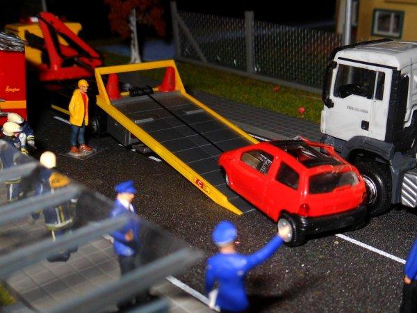 Un gendarme fauché pendant un contrôle routier 2/2
