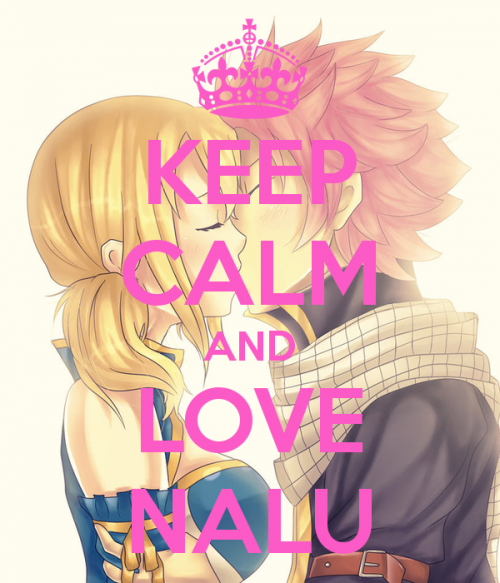 Keep calm and love Nalu