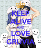 Keep calm and love Gruvia