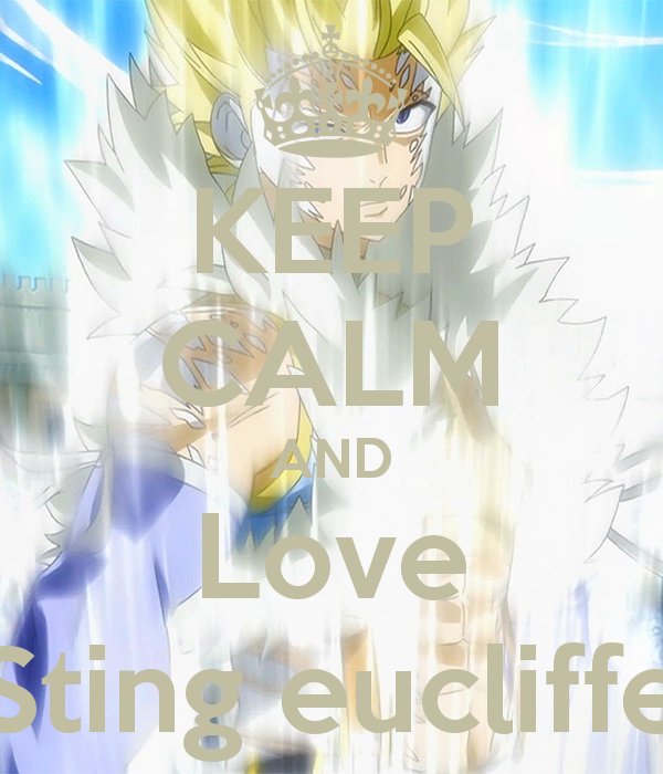 Keep calm and love Sting