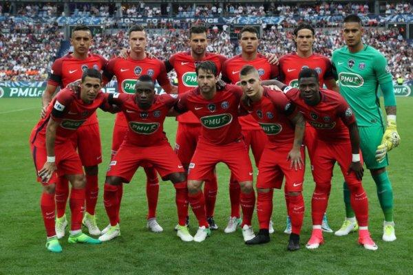 SCO-PSG finale de la coupe de France 2016-2017