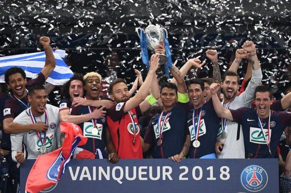 Les Herbier(National 1)-PSG Finale de la CDF 2017-2018