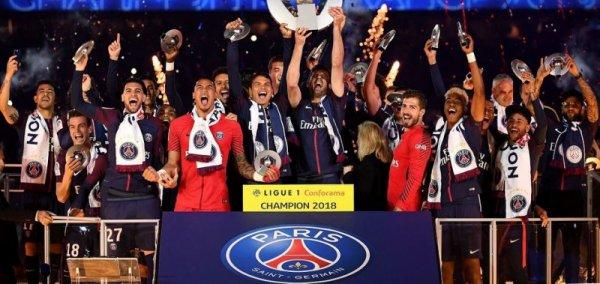 PSG-Rennes 37ème journée du championnat de France de L1 2017-2018