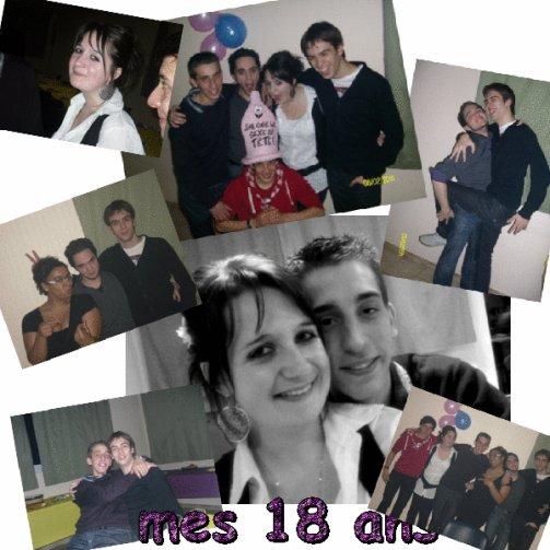 Mes 18 ans  ♥