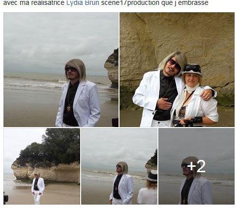 """TOURNAGE DU CLIP """"LE MONDE EST FOU""""  Photos Fabiola"""