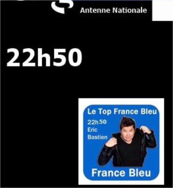 AVEC BASTIEN BIENTÔT SUR FRANCE BLEU ANTENNE NATIONAL (Paris)