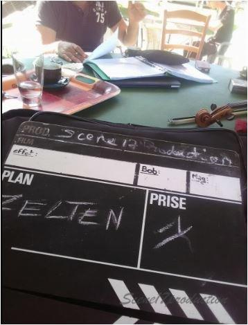 """Une journée de tournage avec """" ZELTEN """""""