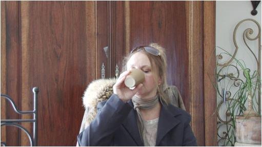 """"""" Café après l'écriture d'un scénario"""""""
