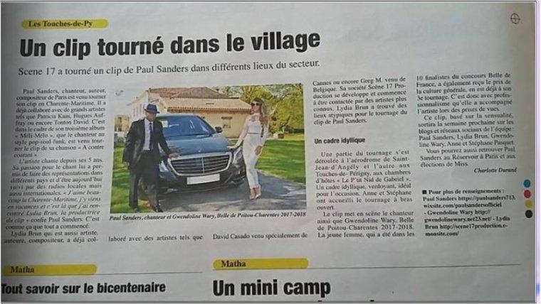 PRESSE L'ANGERIEN / JOURNALISTE SUD OUEST