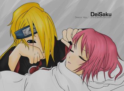 Sakura et Deidara