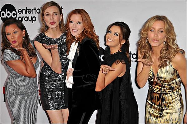 . 21/09/11:Pour ladernièresaison de D-H , ABCtélévisionà organiser une fête avec le Cast. .