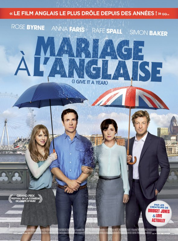 Mariage à l'Anglaise (Ce soir - 20H45 - Canal+ Family)