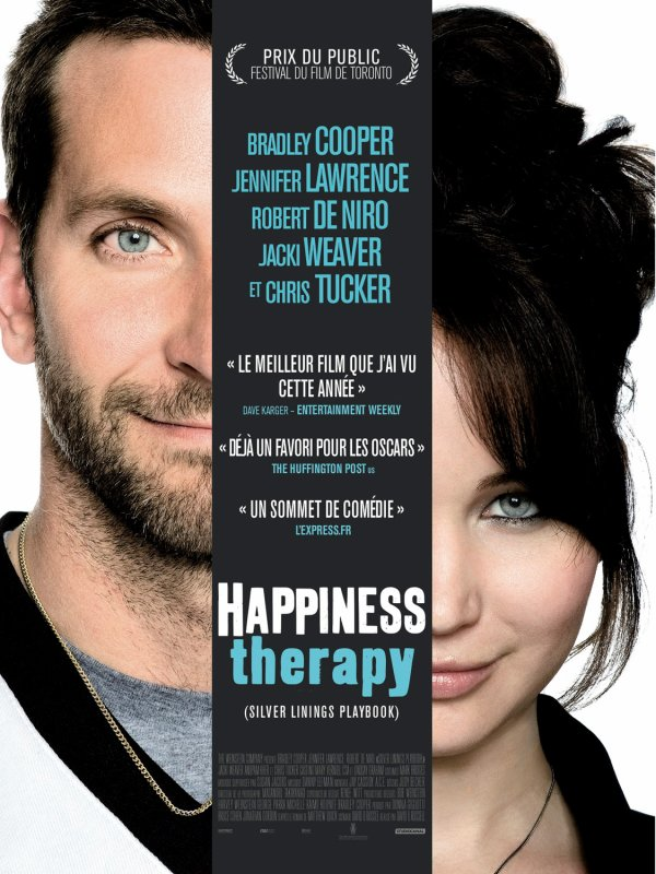 Happiness Therapy (Ce soir - 23H40 - Canal+ Cinéma)