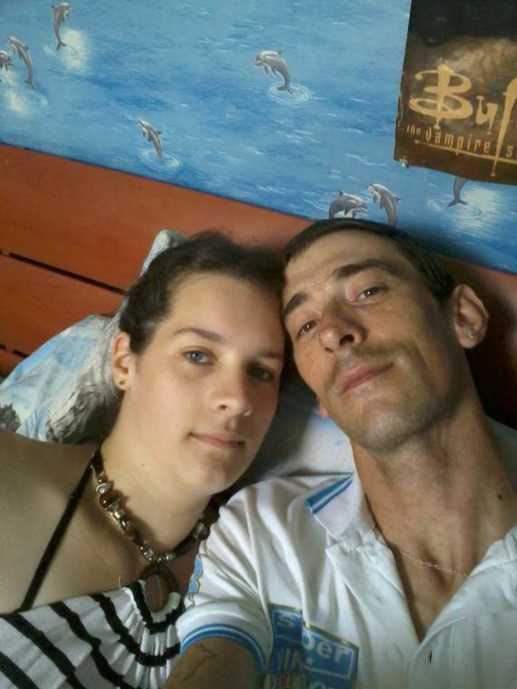 Ma fiancee et moi