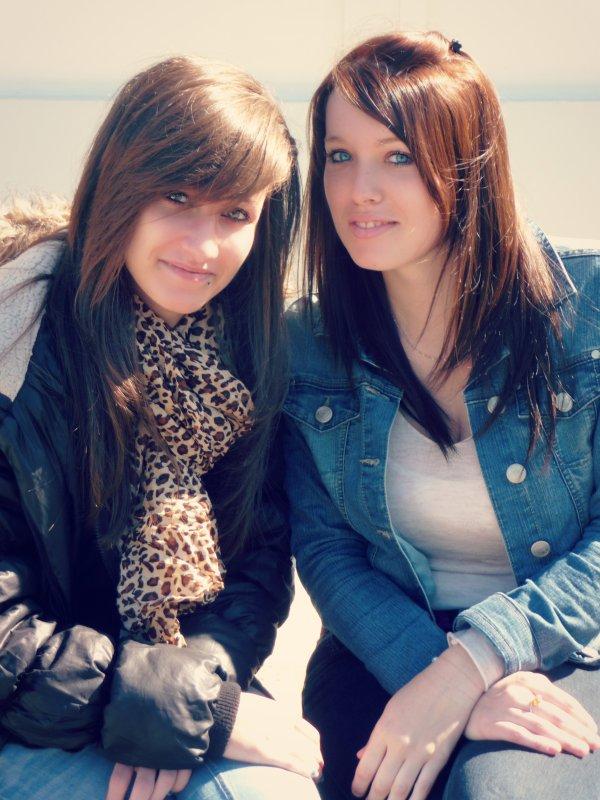 > Audrey & moi ♥ < ©