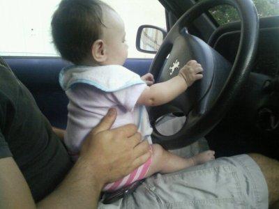 ma fille o volant